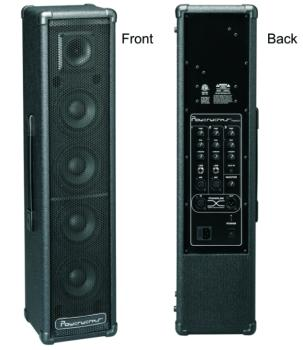 PowerWerks 100 Watt Self-Contained Personal P.A. System with Powerlink (OW-PW100T)