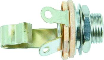 """W.D. 1/4"""" 3 Conductor Stereo Input Jack (WD-WDE12S)"""