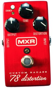 MXR Custom Bad Ass '78 Distortion Effects Pedal (MX-M78)