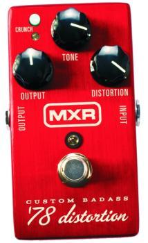 MXR Custom Bad Ass '78 Distortion Effects Pedal (MX-M78)