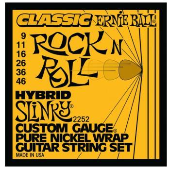 Ernie Ball Classic Pure Nickel Hybrid Slinky (EB-2252)
