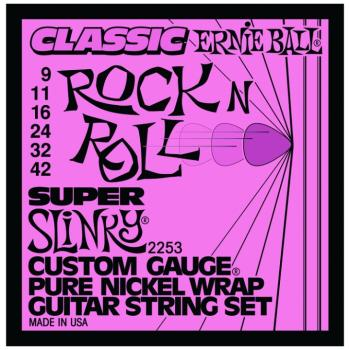 Ernie Ball Classic Pure Nickel Super Slinky (P02253)