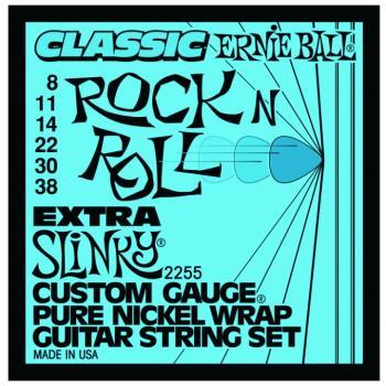 Ernie Ball Classic Pure Nickel Extra Slinky (EB-2255)