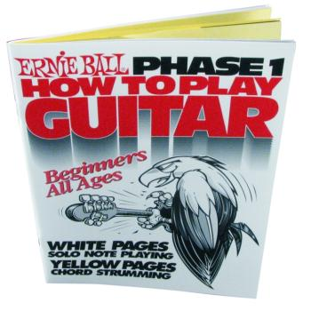 Ernie Ball How To Play Guitar Phase 1 Book (EB-7001)