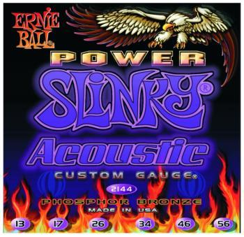 Ernie Ball Earthwood Phosphor Bronze Acoustic Guitar Strings, Medium (13 - 56) (P02144)