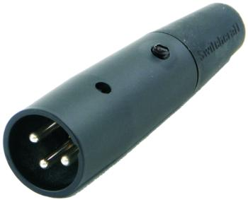 Value Series Male 3-Pin XLR Connector (VL-A3M)