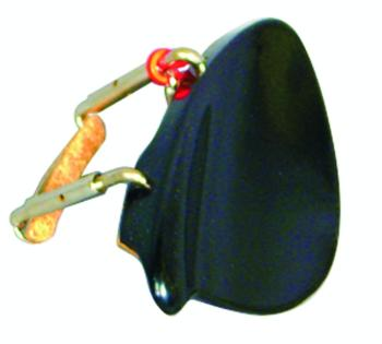 Value Series Tekka-Ebonite Violin Chinrest (VL-9648)