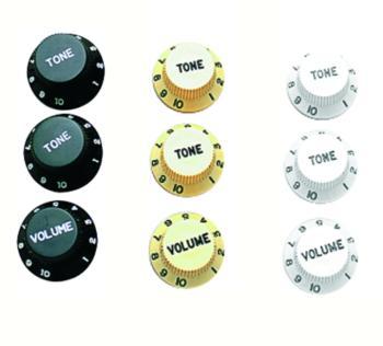 W.D. Strat Style Speed Knob Set (WD-MTR-SS077)
