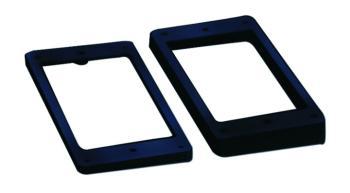 W.D. Humbucker Pickup Rings, Set of 2 (WD-MTR-SS206)