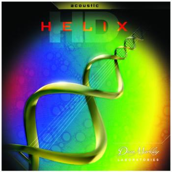Dean Markley Helix HD Phosphor Acoustic Guitar Strings, Medium (13 - 56) (DM-2088)