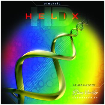 Dean Markley Helix HD Electric Guitar Strings, Custom Light (9 - 46) (DM-2512)