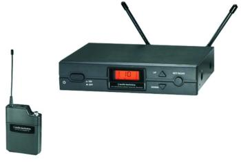 Audio Technica ATW-R2100a Receiver and ATW-T210a UniPak Transmitter, D  (AT-ATW2110AD)