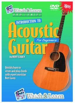Watch & Learn Intro to Acoustic Guitar DVD (WL-AVD)