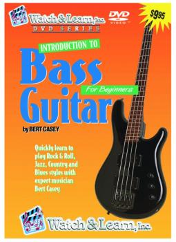 Watch & Learn Intro to Bass Guitar DVD (WL-BVD)
