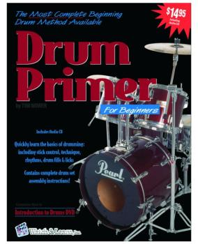 Watch & Learn Drum Primer Instruction Book with CD (WL-DP)