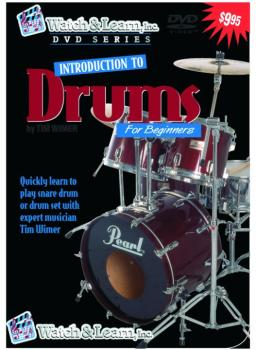 Watch & Learn Intro to Drums DVD (WL-DPD)