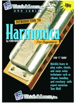 Watch & Learn Intro to Harmonica DVD (WL-HPD)