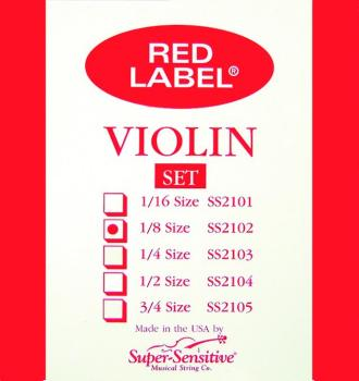 Super Sensitive Orchestra Tone Violin Set, 1/8 (SU-0012102)