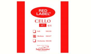 Super Sensitive Medium Tone Cello String Set, 4/4 (SU-0016107)