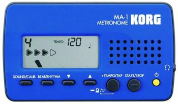 Korg Digital Metronome, Blue (MA1BL)