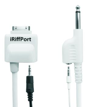 PocketLab Works iRiffPort Digital Audio Guitar Connection for iPad, iPhone, and iPod touch (PO-PLW2003)