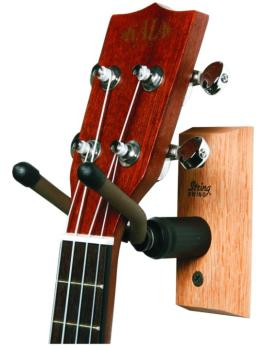 String Swing Hardwood Home & Studio Ukulele / Mandolin Hanger (CC01UK)