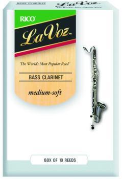 La Voz Bass Clarinet Reeds (LV-MTR-1284L)