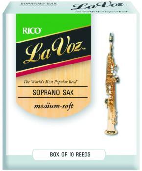 La Voz Soprano Sax Reeds, 10 Per Box (LV-MTR-L808)