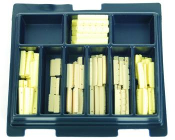 Grover Replacement Guitar Nut Assortment, 120 ct. (GR-GP170)