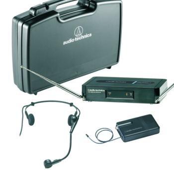 Audio Technica Pro Series 3 VHF Headworn Wireless System (AT-MTR-PRO301H)