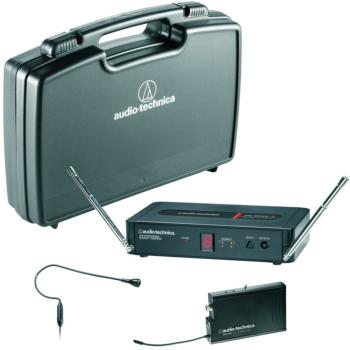Audio Technica PRO-R500 Receiver, PRO-T501 Transmitter and PRO 92cW Headworn Microphone (AT-MTR-PRO501H)