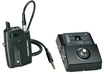 Audio Technica System 10 Stompbox Digital Wireless System (AT-ATW1501)