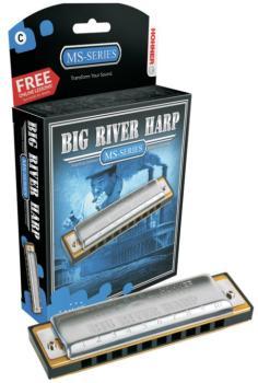 Hohner Big River Harmonica (HH-MTR-HH590BL)