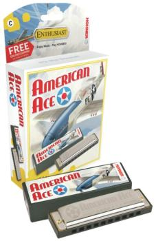 Hohner American Ace Harmonica (HH-MTR-HNMDH)