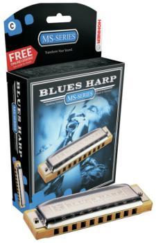 Hohner Blues Harp Harmonica (HH-MTR-HH532BL)