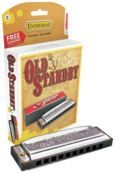 Hohner Old Standby Harmonica (HH-MTR-HH34BBL)