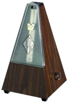 Wittner Standard Taktell Metronome, Simulated Walnut (845131)