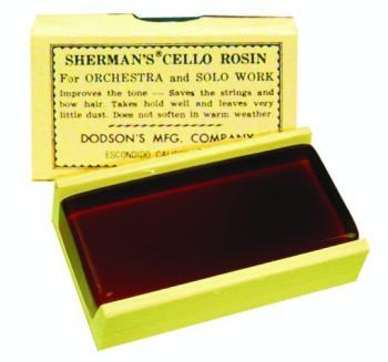 Sherman Cello Rosin (SA-3190)