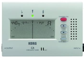 Korg Advanced Solo Chromatic Tuner w/ Output Jack (KO-CA40)