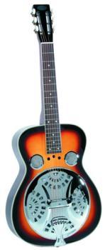 Flinthill Squareneck Resonator Guitar, Sunburst (FL-FHD100S)