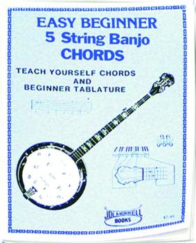 Morrell Easy Beginner Banjo Chord Instruction Book (ME-GP305)