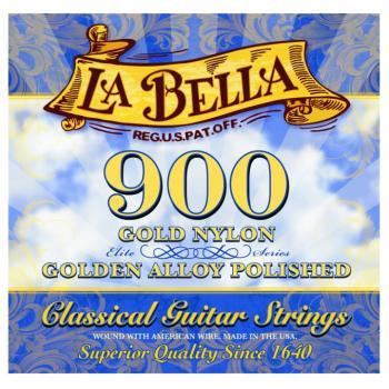 La Bella® Golden Superior Classical Strings, Gold (LB-L900)