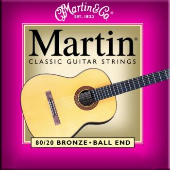 Martin Bronze Classical Guitar Strings, Ball End (MA-M260)