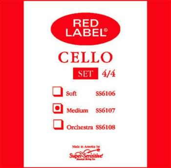 Super Sensitive Medium Tone Cello String Set, 4/4 (SU-S45)