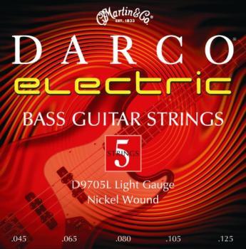 Darco 5 Stg. Electric Bass Set, Light (DR-D9705L)