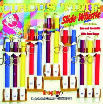 Trophy Circus Time Slide Whistles (TR-30C)