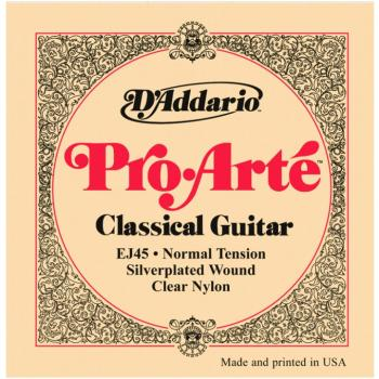 D'Addario Pro Arte' Classical Strings, Normal Ten. (EJ45)