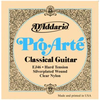 D'Addario Pro Arte' Classical Strings, Hard Ten. (DD-EJ46)