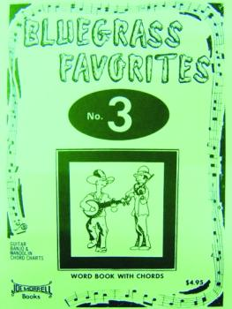 Morrell Bluegrass Favorites Book, Volume 3 (ME-GP303)