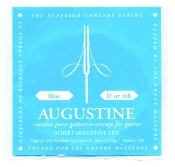 Augustine Blue Label Wound Single D String (AU-A84)